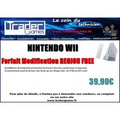 FORFAIT MODIFICATION NINTENDO WII -REGION FREE-