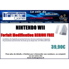 NINTENDO WII -REGION FREE- MODIFICATION