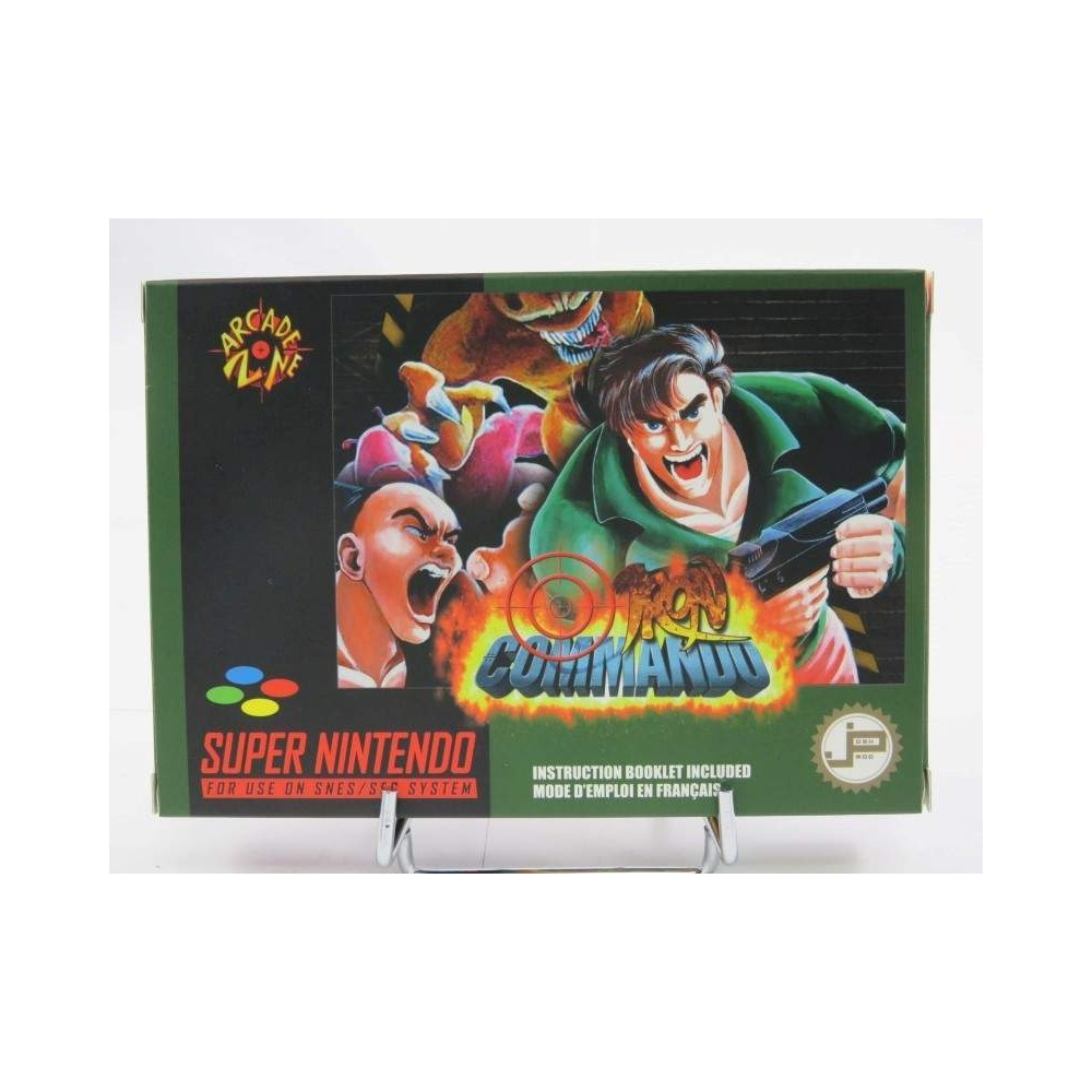 IRON COMMANDO SNES PAL-FR NEW