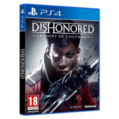 DISHONORED LA MORT DE L OUTSIDER PS4 FR NEW