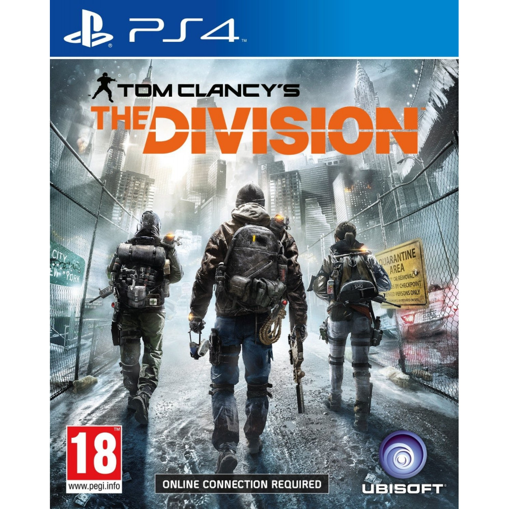 THE DIVISION PS4 UK OCC