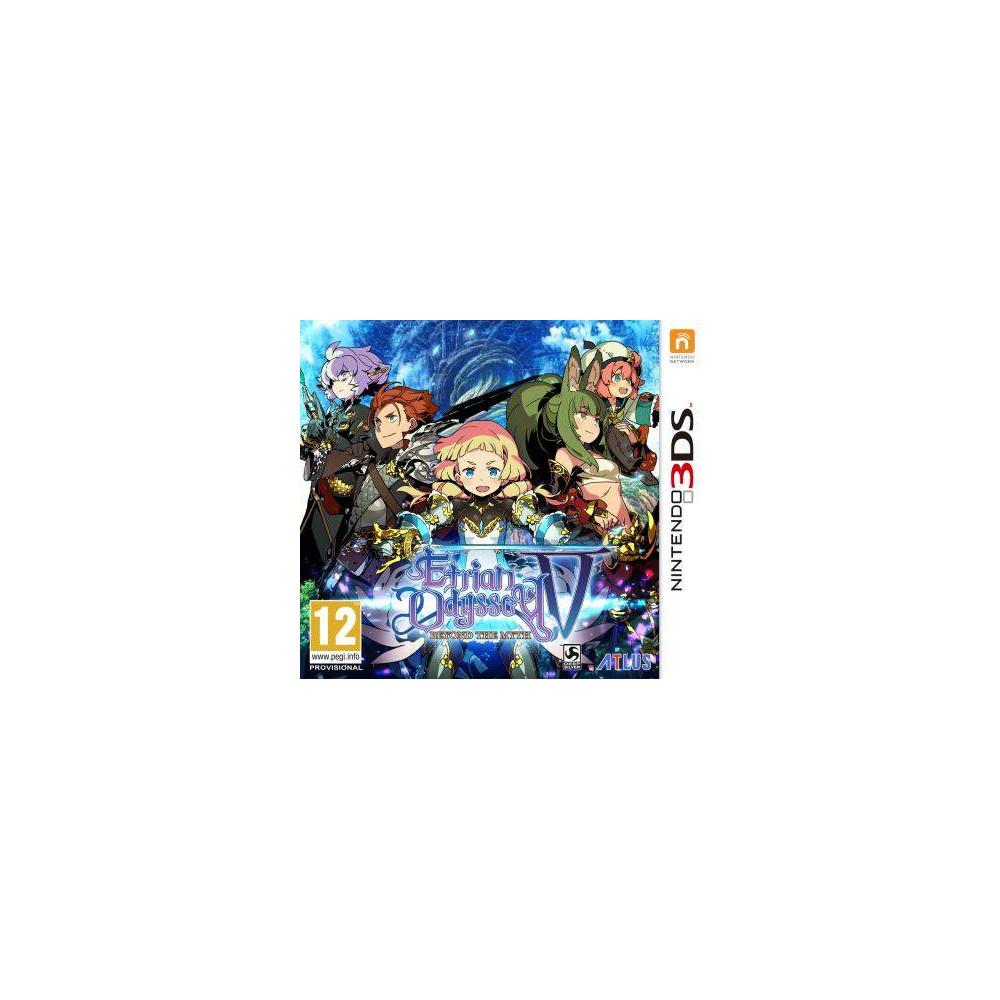 ETRIAN ODYSSEY V 3DS FR NEW