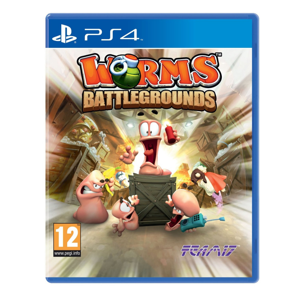 WORMS BATTLEGROUNDS PS4 UK