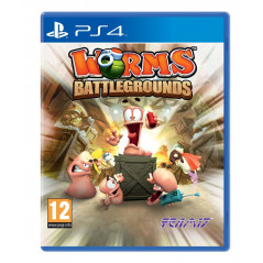WORMS BATTLEGROUNDS PS4 UK