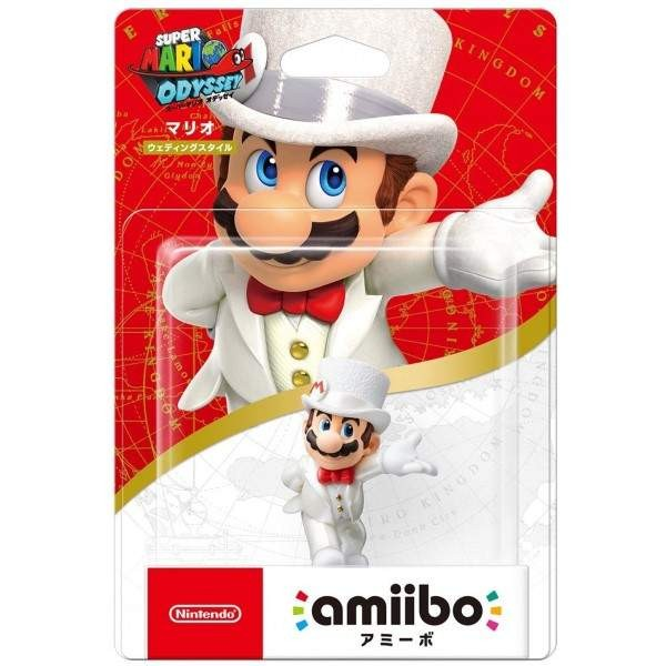 AMIIBO WEDDING TYPE FIGURE MARIO JPN NEW