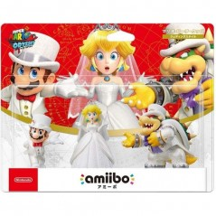 AMIIBO SUPER MARIO ODYSSEY SERIES TRIPLE PACK - WEDDING OUTFIT