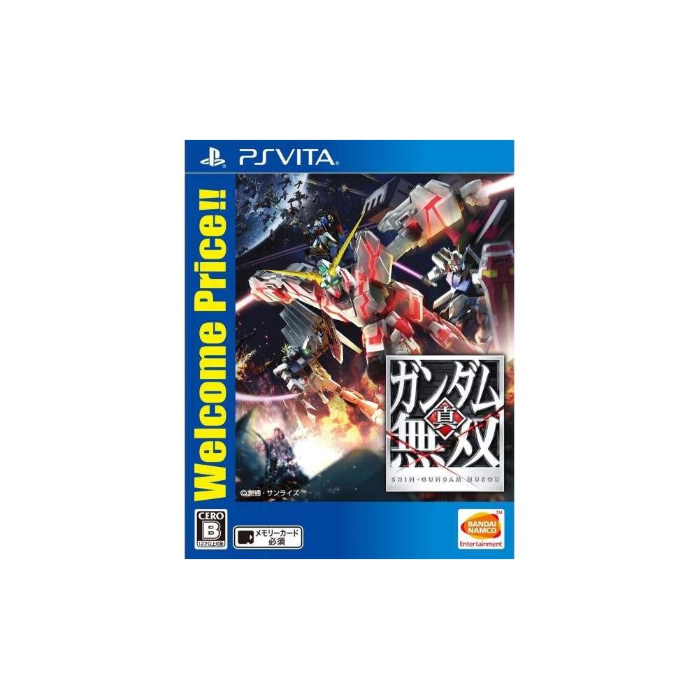 SHIN GUNDAM MUSOU WELCOME PRICE!! PSVITA JPN NEW