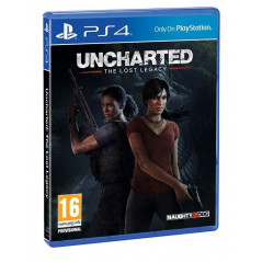 UNCHARTED THE LOST LEGACY PS4 EURO FR NEW