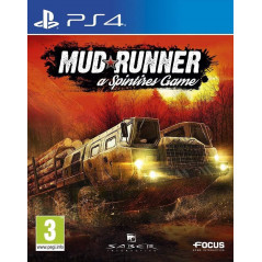 MUD RUNNER A SPINTIRES GAME PS4 UK NEW