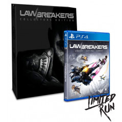 LAWBREAKERS COLLECTORS EDITION PS4 ALL NEW