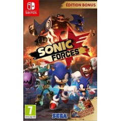 SONIC FORCES EDITION BONUS SWITCH FR NEW