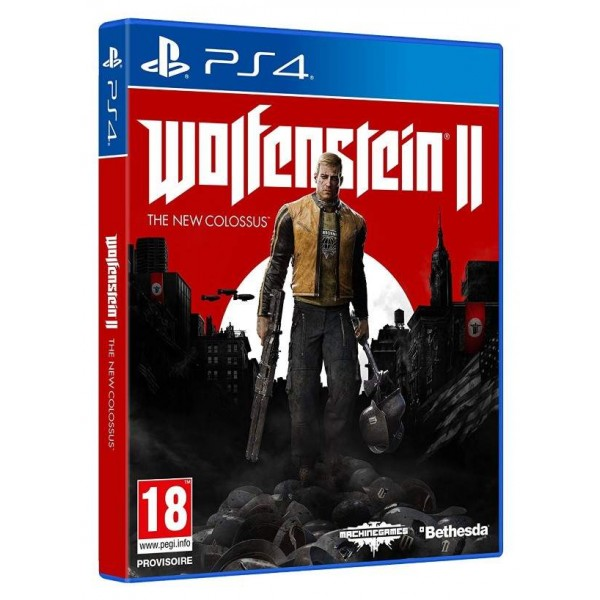 WOLFENSTEIN 2 PS4 FR OCCASION