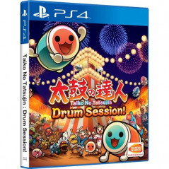 TAIKO NO TATSUJIN DRUM SESSION! PS4 ASIAN NEW ( AVEC TEXTE EN ANGLAIS)
