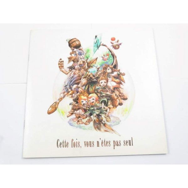 FINAL FANTASY CRYSTAL CHRONICLES PRESS DOC FRANCAIS OCCASION