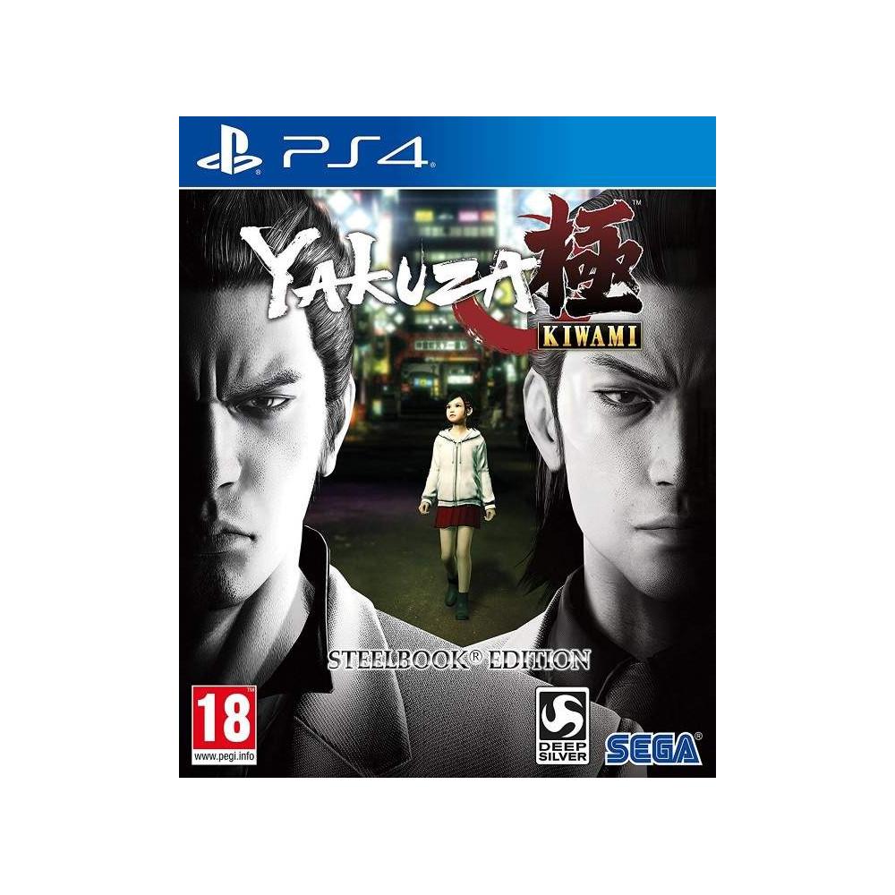 YAKUZA KIWAMI STEELBOOK PS4 UK OCCASION