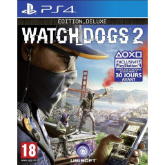 WATCH DOGS 2 EDITION DELUXE PS4 FRANCAIS OCCASION