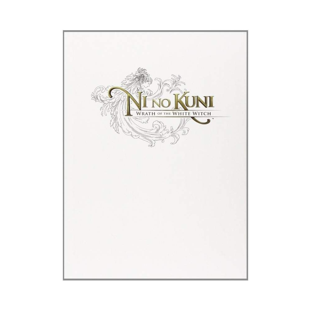 GUIDE NI NO KUNI WRATH OF THE WHITE WITCH BOOK USA NEW