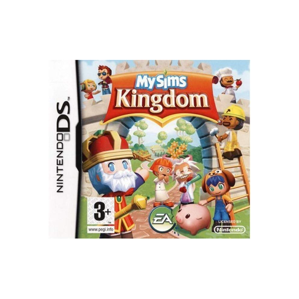 MY SIMS KINGDOM NDS FRA OCCASION