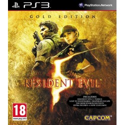 RESIDENT EVIL 5 GOLD EDITION PS3 FR OCCASION
