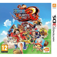 ONE PIECE UNLIMITED WORLD RED 3DS PAL-UK OCCASION