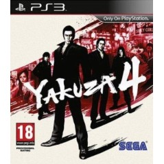 YAKUZA 4 PS3 FR OCCASION