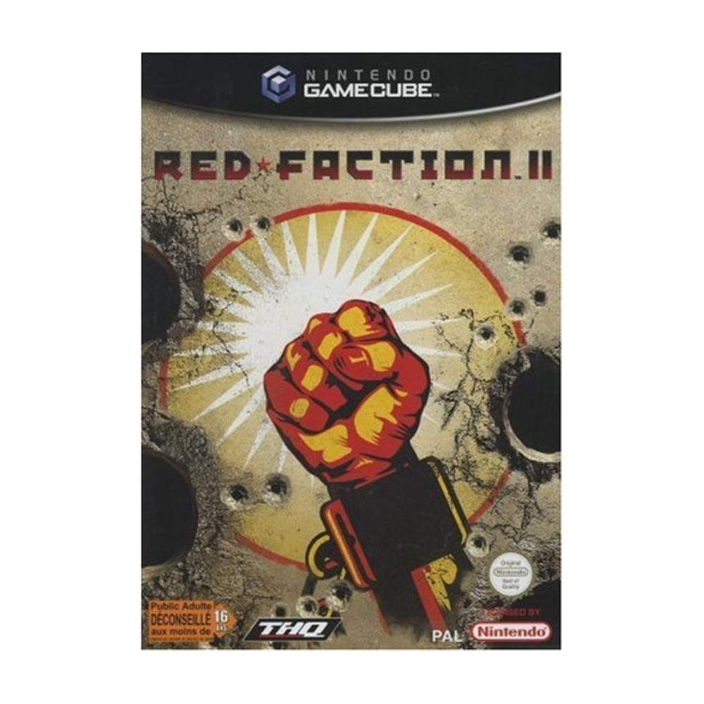 RED FACTION II GAMECUBE PAL-FR OCCASION