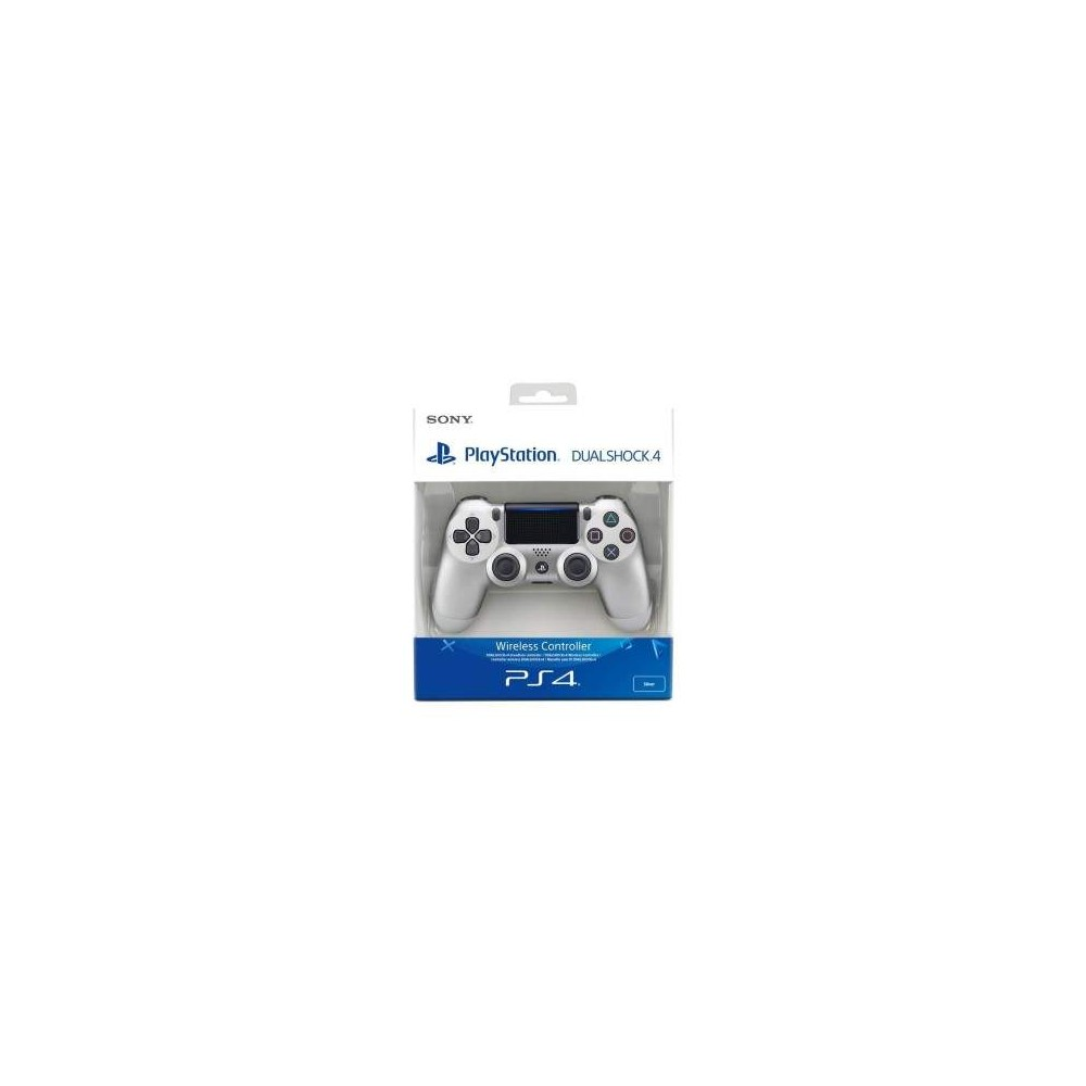 CONTROLLER DUAL SHOCK 4 SILVER V2 PS4 NEW