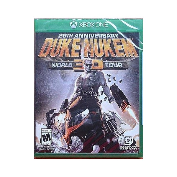 DUKE NUKEM 3D 20TH ANNIVERSARY WORLD TOUR XONE US NEW