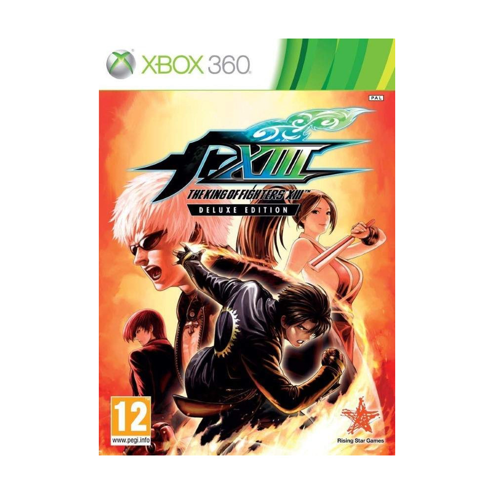 THE KING OF FIGHTERS XIII EDITION DELUXE X360 PAL-FR OCCASION