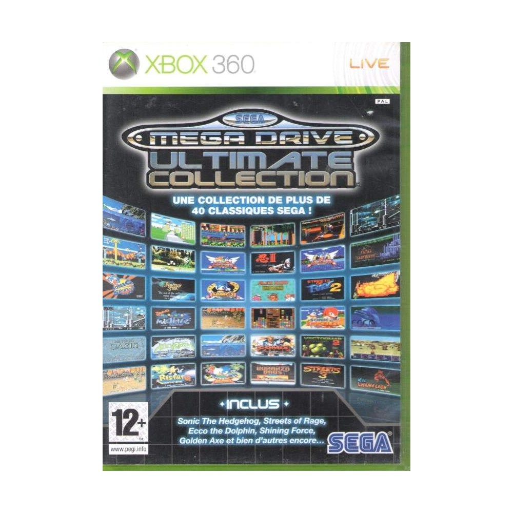 SEGA MEGA DRIVE COLLECTION XBOX 360 PAL-UK NEW