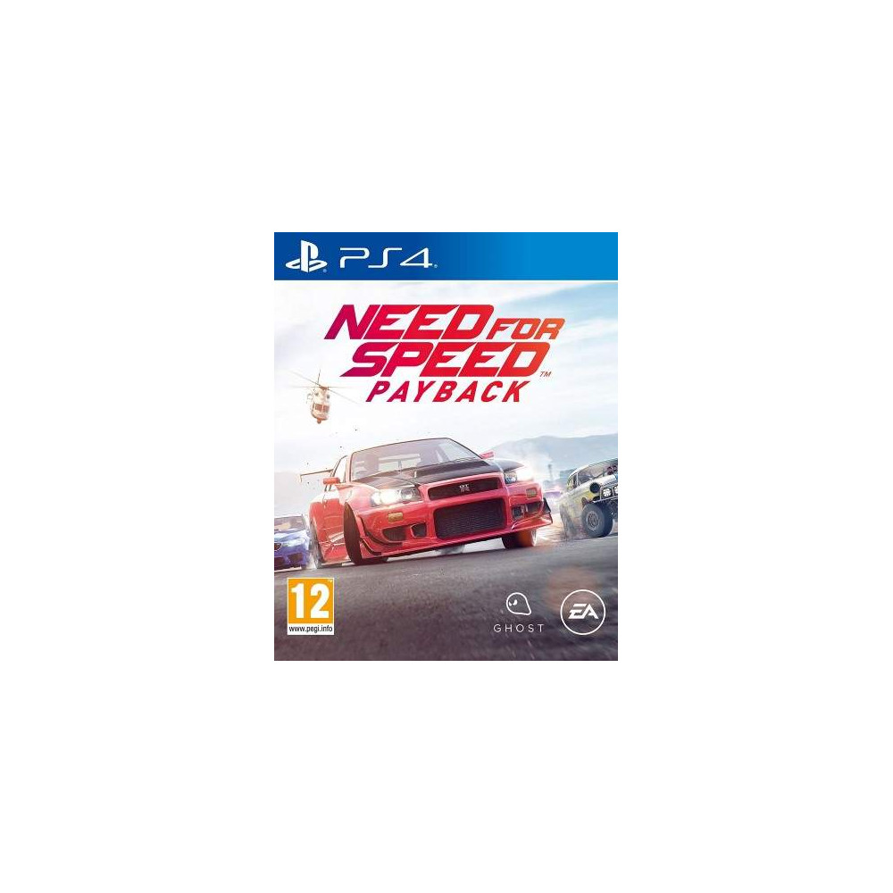 NEED FOR SPEED PAYBACK PS4 UK NEW
