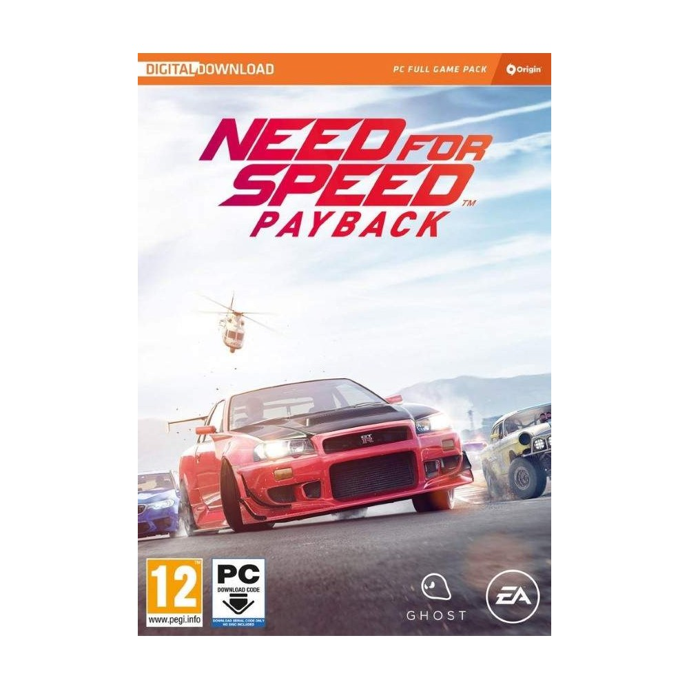 NEED FOR SPEED PAYBACK PC FR NEWv