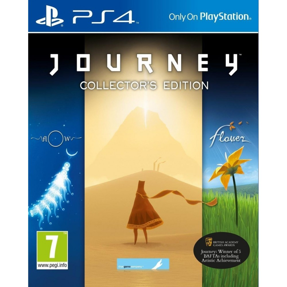 JOURNEY EDITION COLLECTOR PS4 FR OCCASION