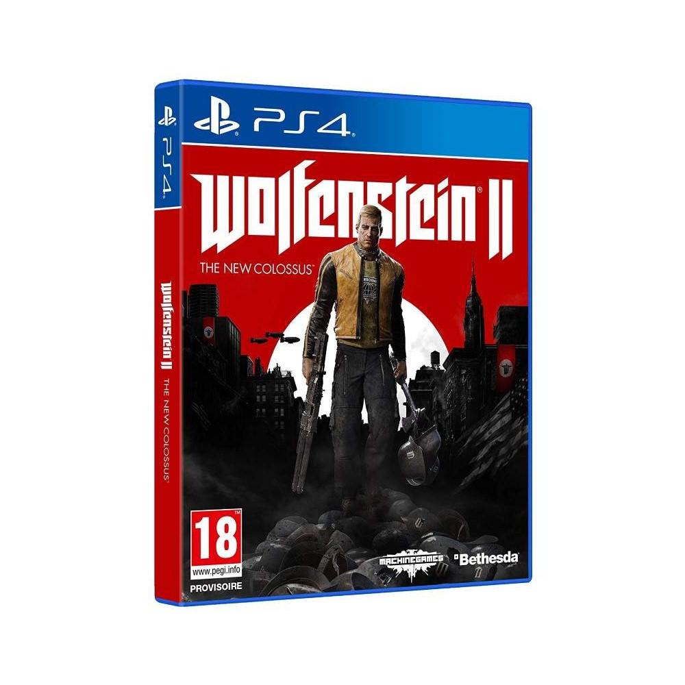 WOLFENSTEIN 2 PS4 FR NEW