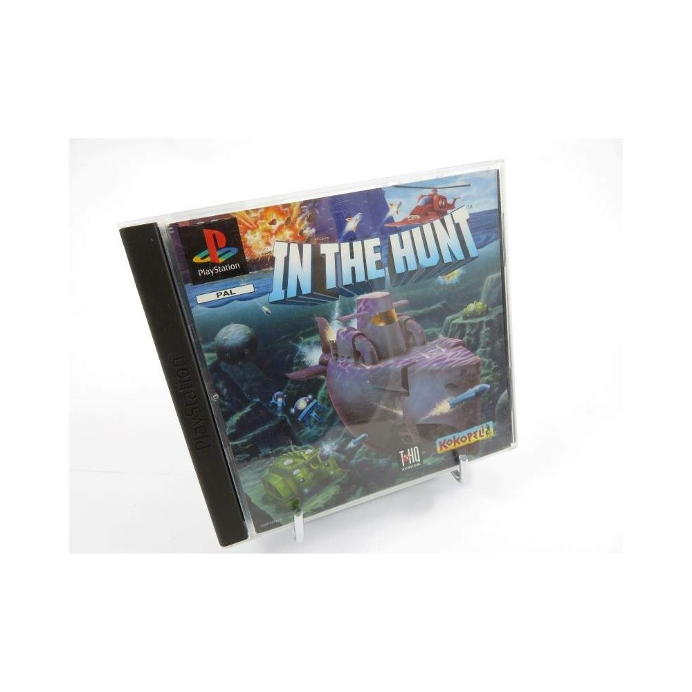 IN THE HUNT PS1 PAL-FR OCCASION