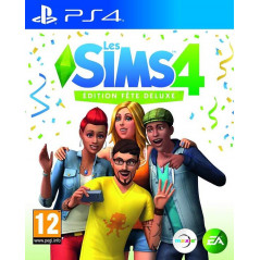 LES SIMS 4 EDITION FETE DELUXE PS4 FR NEW