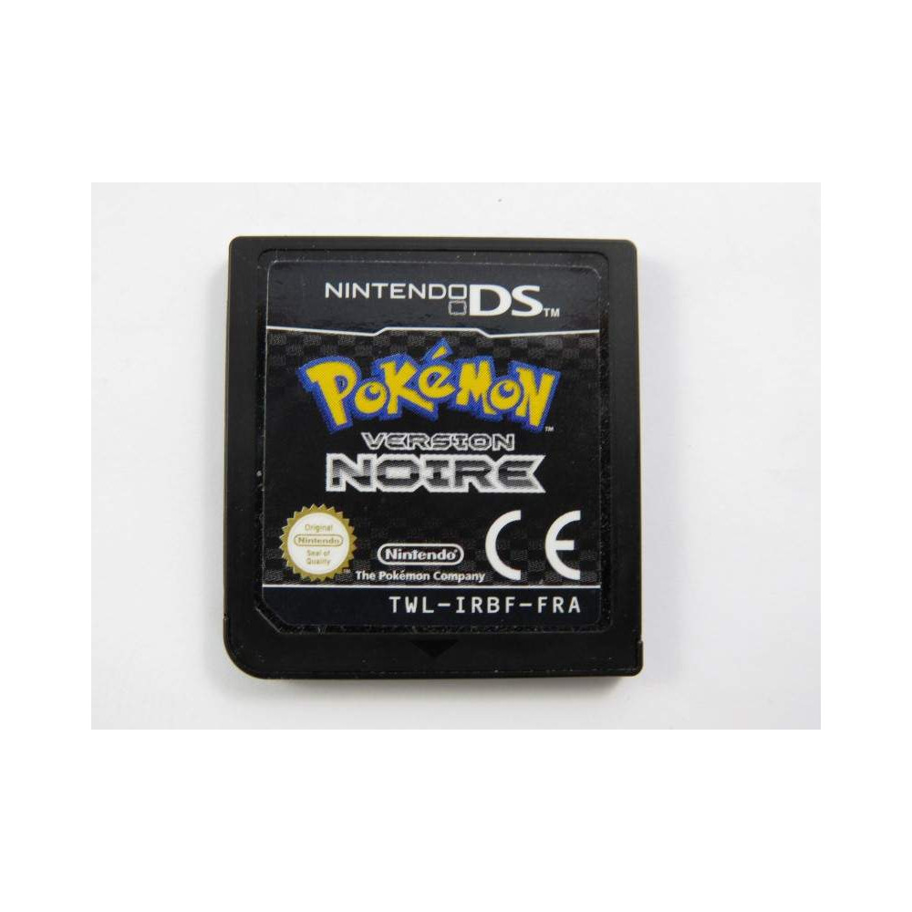 POKEMON VERSION NOIRE NDS FRA LOOSE