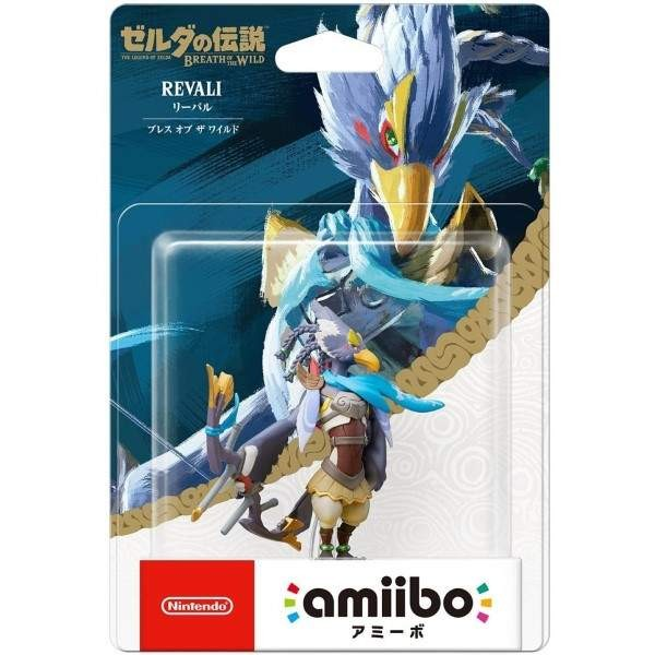 AMIIBO THE LEGEND OF ZELDA BREATH OF THE WILD RIBAL JAP NEW