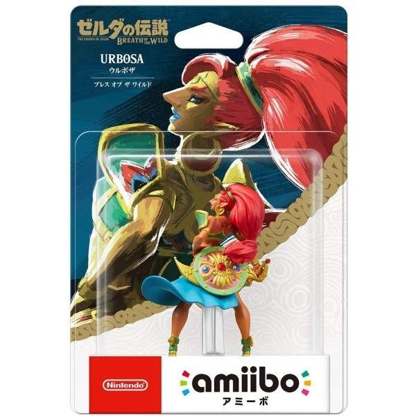 AMIIBO THE LEGEND OF ZELDA BREATH OF THE WILD URBOSA JAP NEW