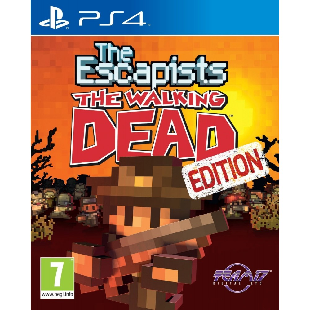 THE ESCAPISTS THE WALKING DEAD PS4 UK