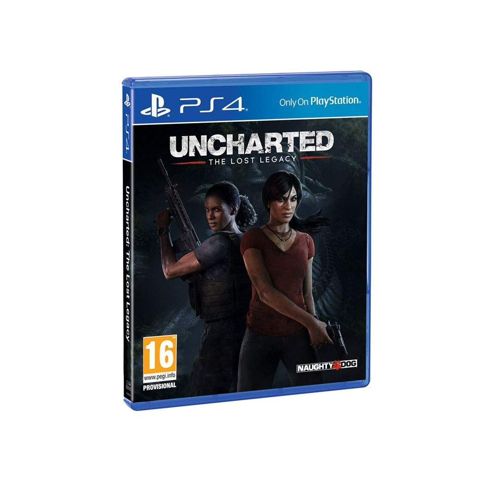 UNCHARTED THE LOST LEGACY BUNDLE COPY PS4 FR OCCASION