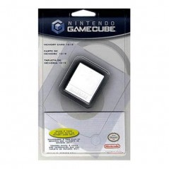 CARTE MEMOIRE - MEMORY CARD 1019 BLOCS GAMECUBE OFFICIEL NEW