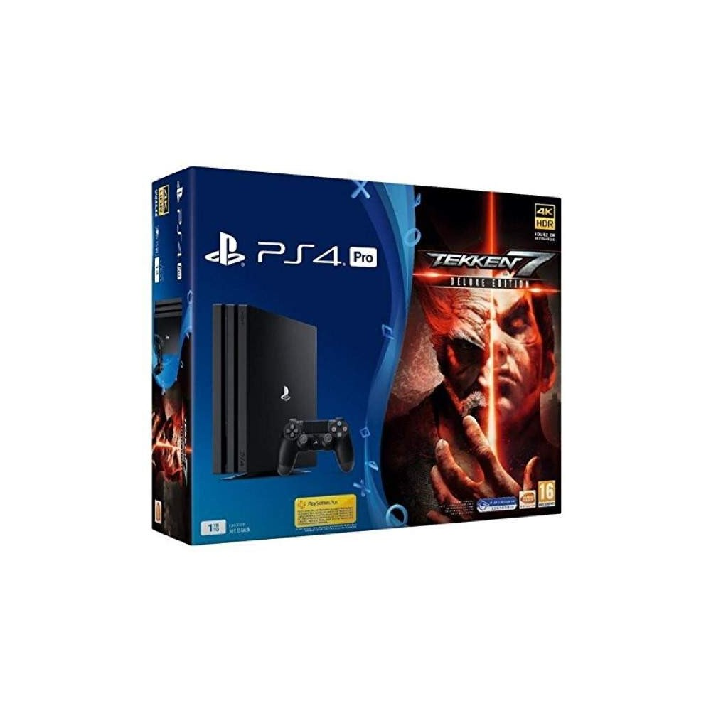 CONSOLE PS4 PRO 1 TO + TEKKEN 7 DELUXE EDITION EURO NEW