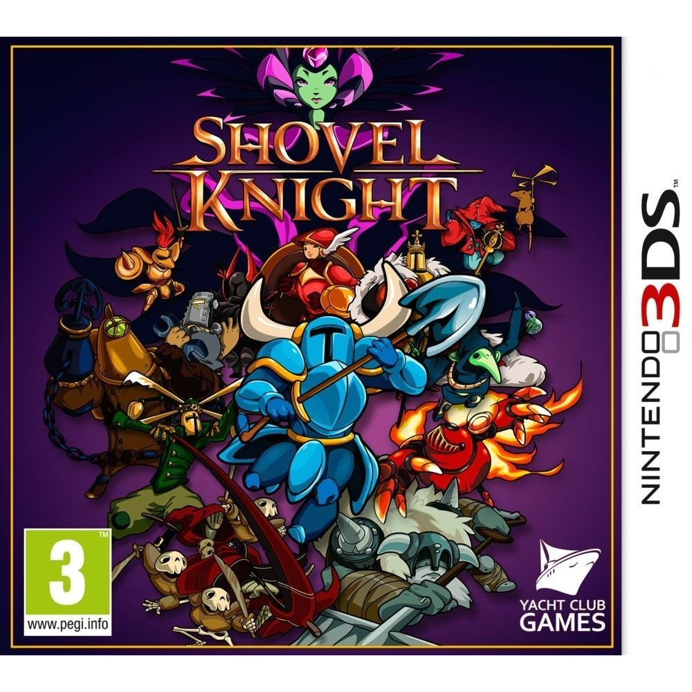 SHOVEL KNIGHT 3DS VF