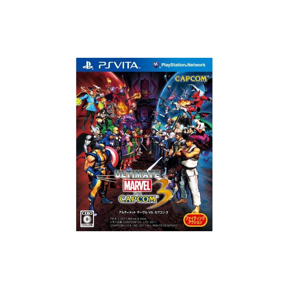 ULTIMAT MARVEL VS CAPCOM 3 PSVITA JAP OCCASION