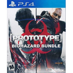 PROTOTYPE BIOHAZARD BUNDLE PS4 USA OCCASION