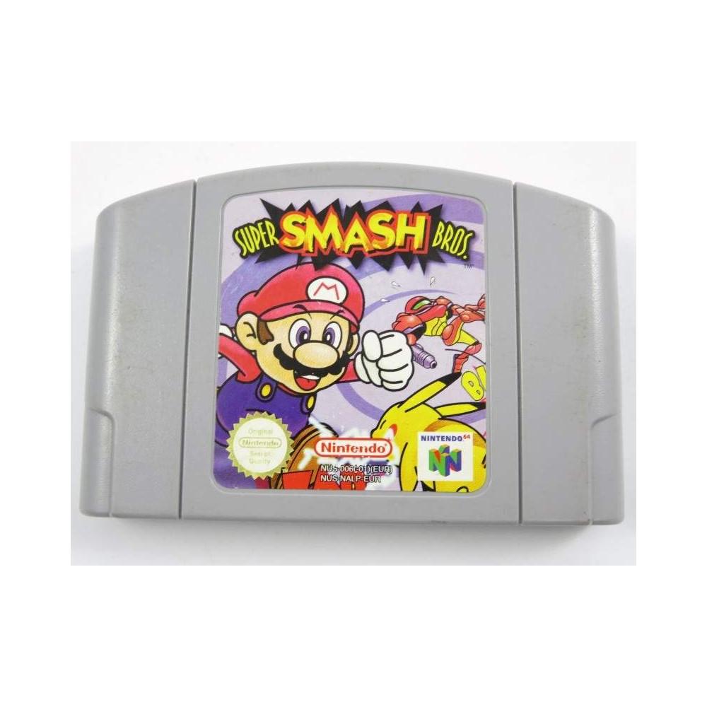 SUPER SMASH BROS N64 PAL-EUR LOOSE