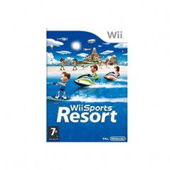 WII SPORTS RESORT WII PAL-FR OCCASION