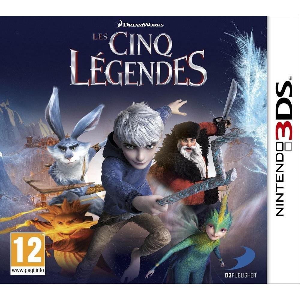 LES CINQ LEGENDES 3DS FR OCCASION
