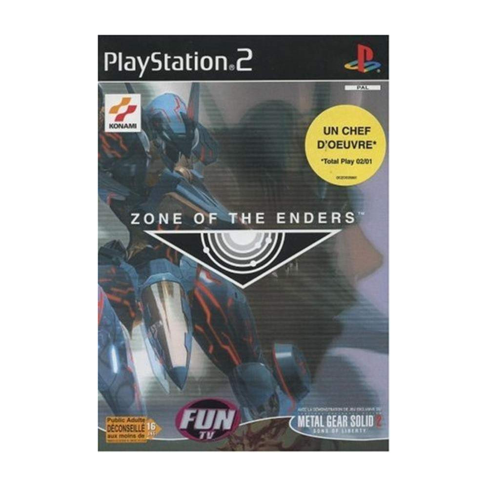 ZONE OF THE ENDERS (+ MGS 2 DEMO) PS2 PAL-FR OCCASION